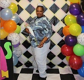 photo of a member at a Fellowship House event